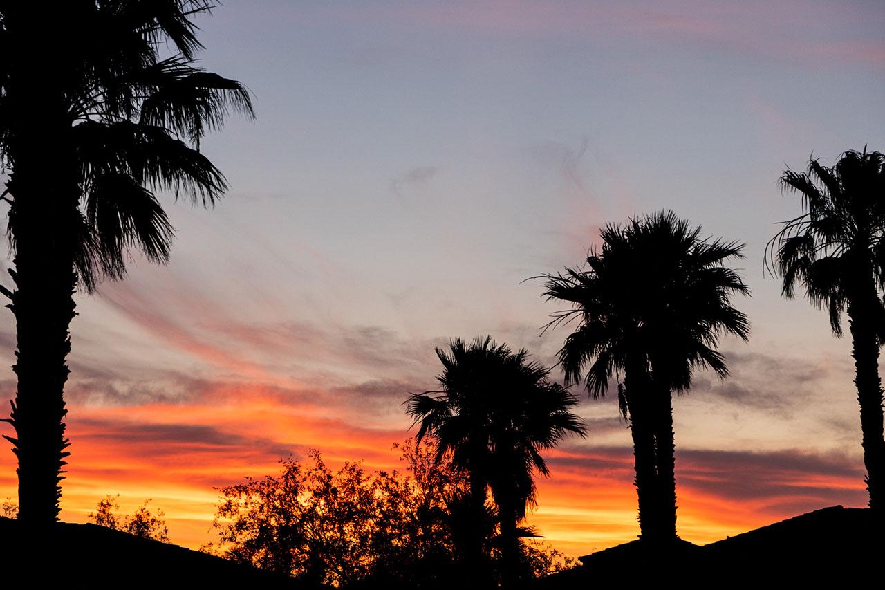mesquite-nevada-sunset